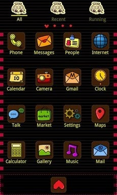 Low CO2 Go Launcher Android Theme Image 2