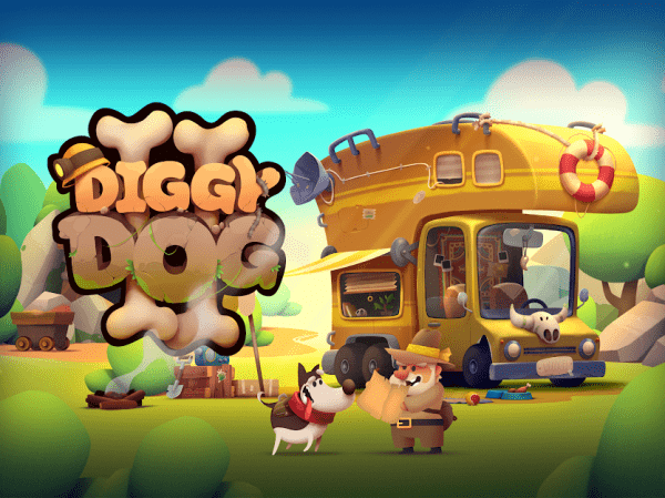 My Diggy Dog 2 Android Game Image 1