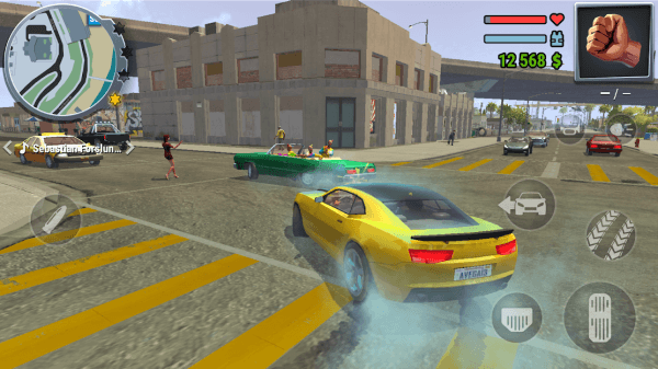 STREETS OF FIRE. Real Gangster Wars Android Game Image 5