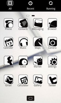 Z.Coffee Go Launcher Android Theme Image 2