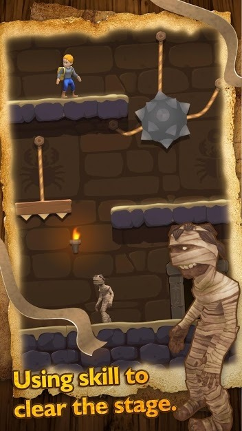 Relic Adventure - Rescue Cut Rope Puzzle Game Android Game Image 3