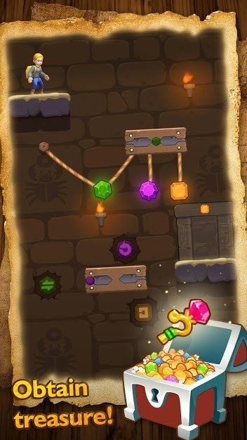 Relic Adventure - Rescue Cut Rope Puzzle Game Android Game Image 4
