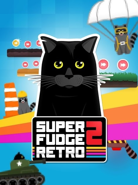 Super Fudge 2: RETRO Android Game Image 1