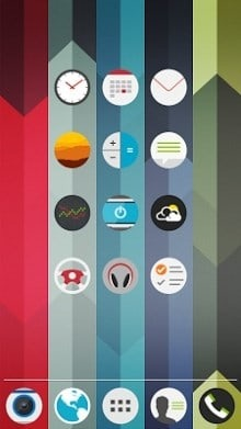 Coconut Go Launcher Android Theme Image 1