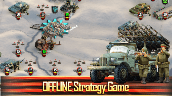 Frontline: The Great Patriotic War Android Game Image 1