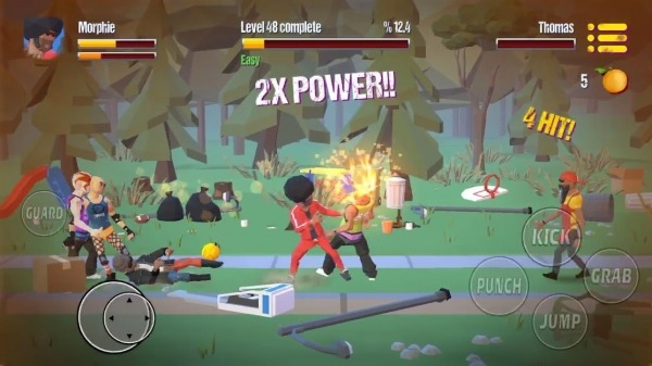 City Fighter Vs Street Gang Android Game Image 3