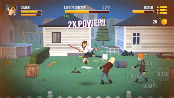 City Fighter Vs Street Gang Android Game Image 4