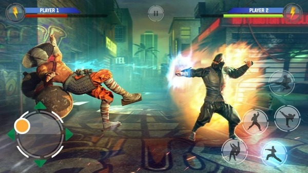 Day Of Fighters - Kung Fu Warriors Android Game Image 2