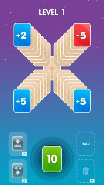 Zero21 Solitaire Android Game Image 1