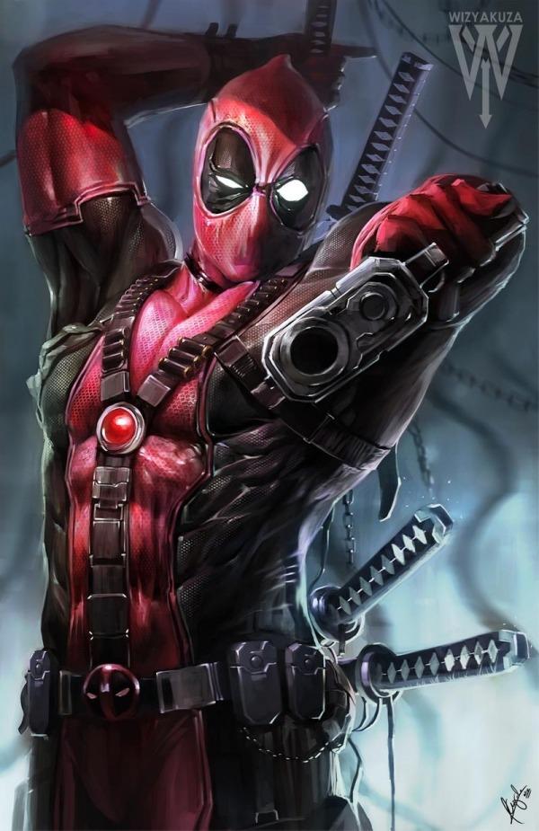 Deadpool Mobile Phone Wallpaper Image 1