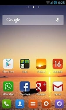 MIUI Go Launcher Android Theme Image 1