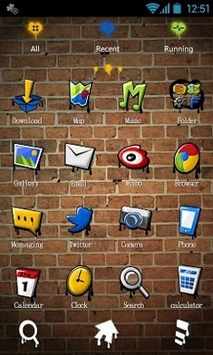 My Youth Go Launcher Android Theme Image 2