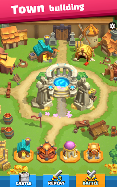 Wild Castle: 3D Offline Game Android Game Image 1