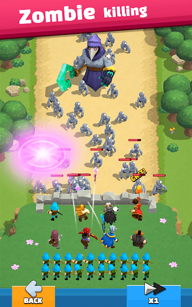 Wild Castle: 3D Offline Game Android Game Image 2