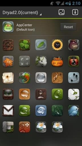 Dryad Go Launcher Android Theme Image 2