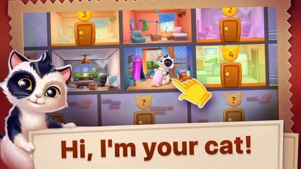 Catapolis: Grand Pet Game | Kitty Simulator Android Game Image 1