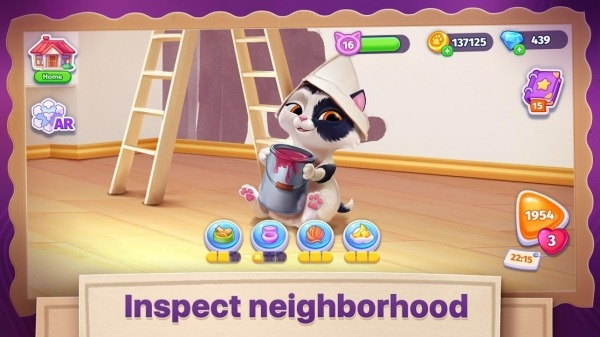 Catapolis: Grand Pet Game | Kitty Simulator Android Game Image 3