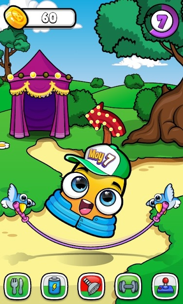Moy 7 The Virtual Pet Game Android Game Image 2