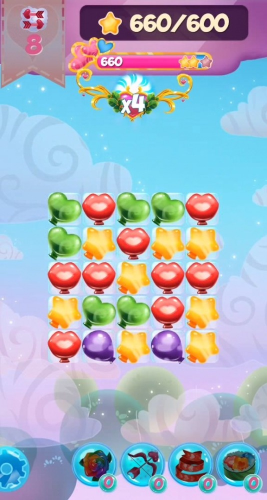 My Valentine's Crush: Match 3 Android Game Image 4