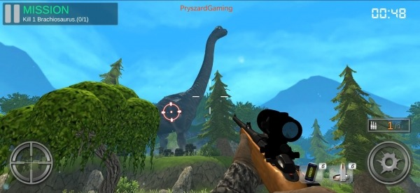 Dino Hunter King Android Game Image 1