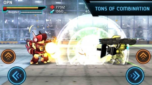 Megabot Battle Arena: Build Fighter Robot Android Game Image 3