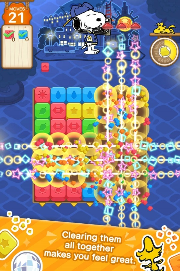 SNOOPY Puzzle Journey Android Game Image 1
