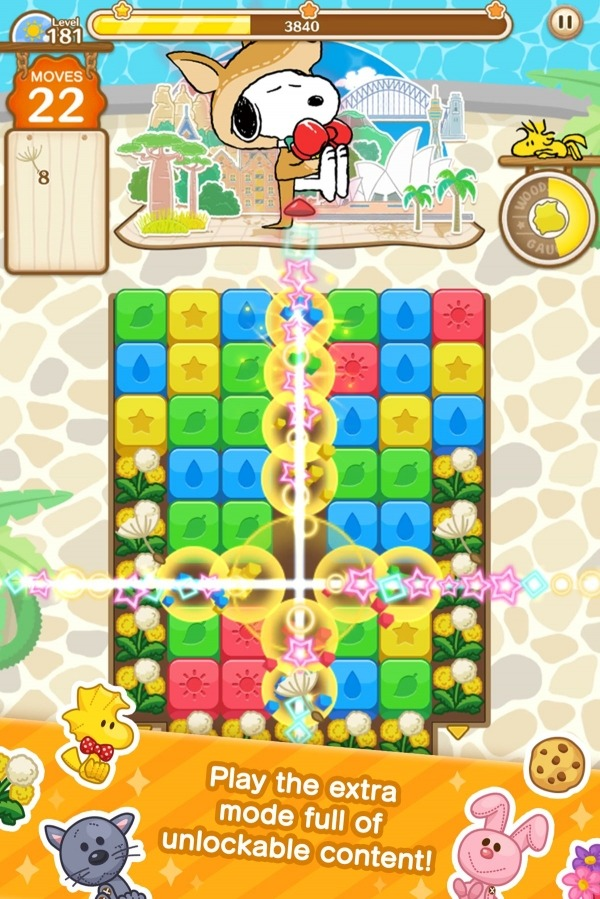 SNOOPY Puzzle Journey Android Game Image 2