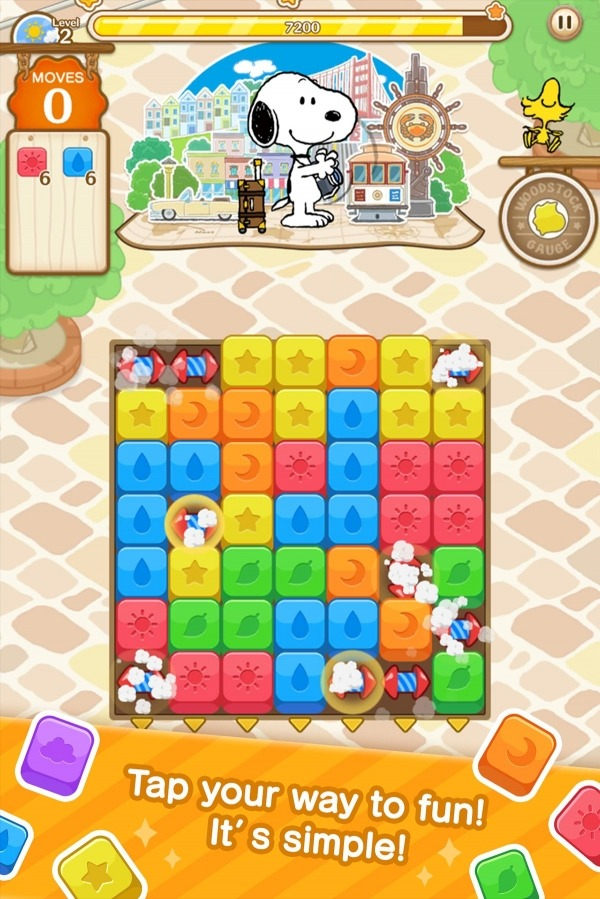 SNOOPY Puzzle Journey Android Game Image 3