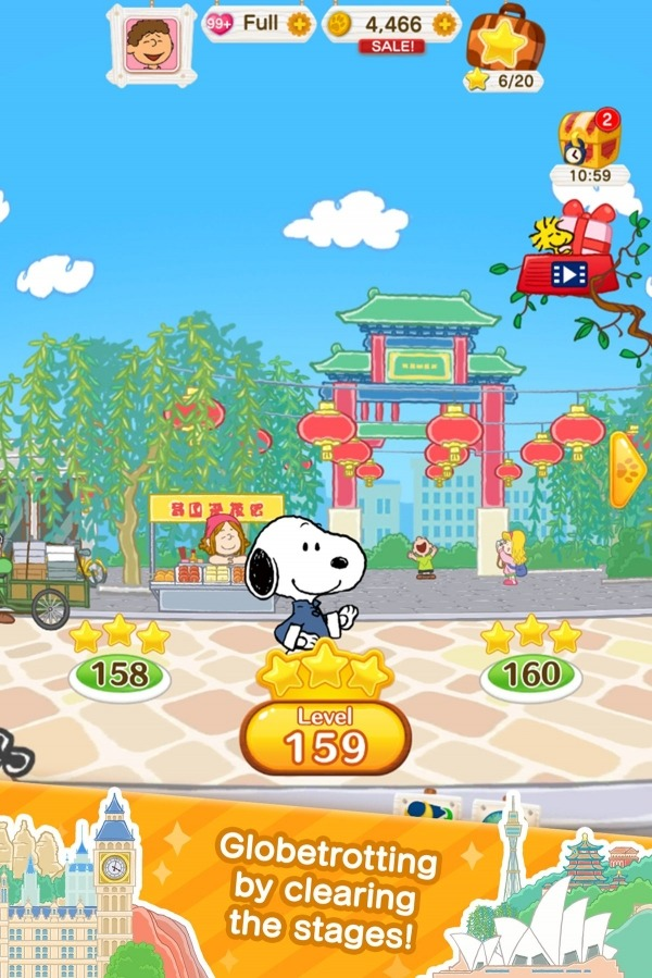 SNOOPY Puzzle Journey Android Game Image 4