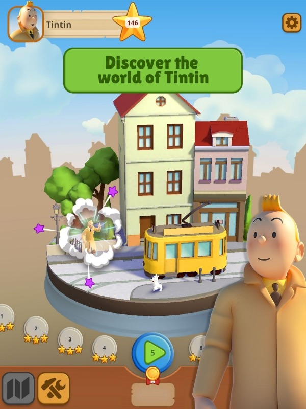 Tintin Match Android Game Image 1