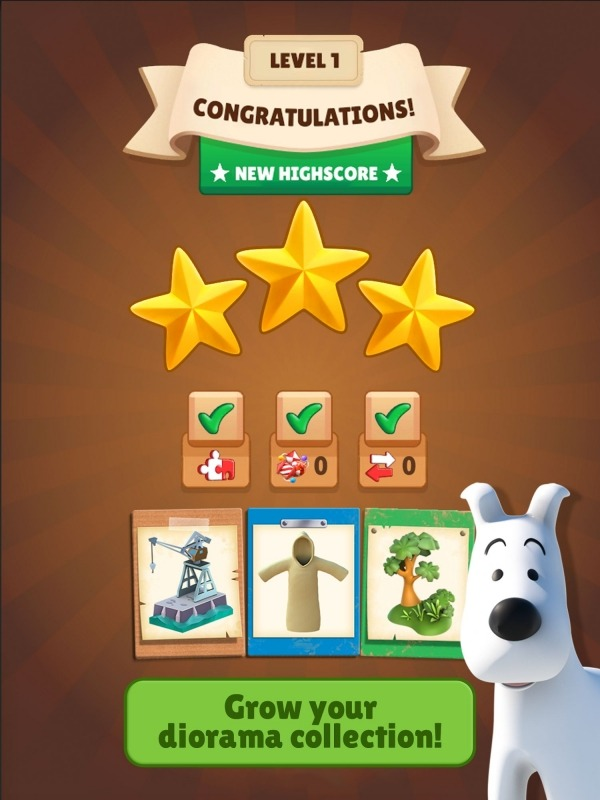 Tintin Match Android Game Image 2