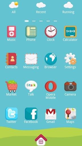 Mini Train Go Launcher Android Theme Image 2
