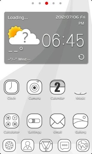 ZLINE Go Launcher Android Theme Image 1
