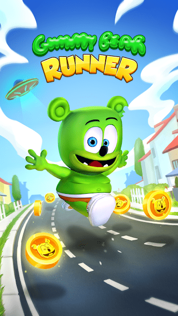 Gummy Bear Running - Endless Runner 2020 Android Game Image 1
