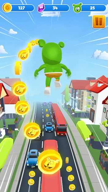 Gummy Bear Running - Endless Runner 2020 Android Game Image 2