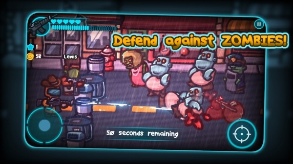 Zombie Guard 2 Android Game Image 1
