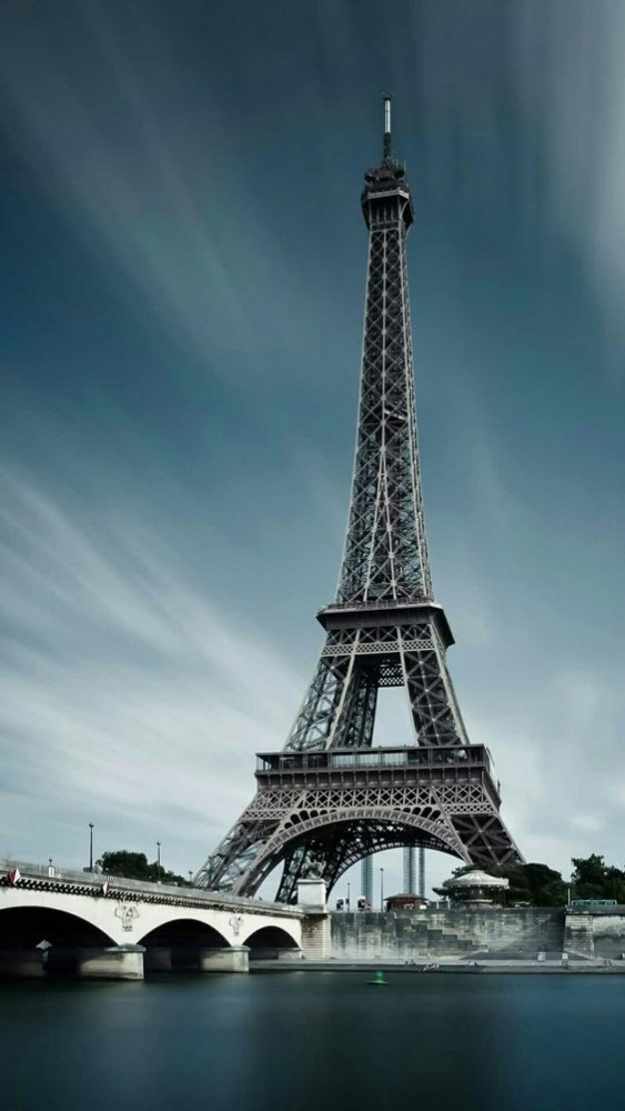 Eiffel Tower Android Wallpaper Image 1