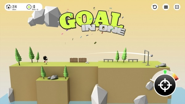 Stickman Trick Soccer Android Game Image 1