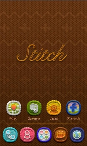 W-Stitchknff Go Launcher Android Theme Image 1