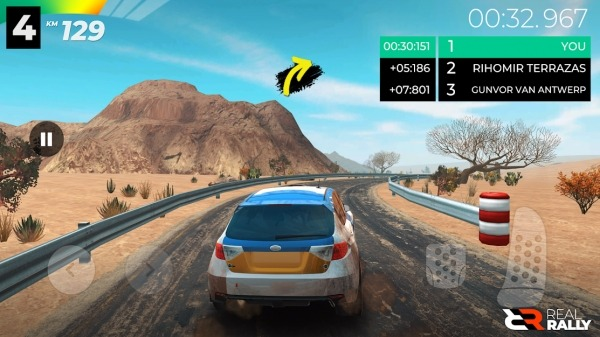 Real Rally Android Game Image 5