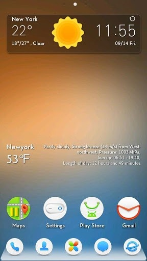 Mr.z Go Launcher Android Theme Image 1