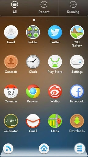 Mr.z Go Launcher Android Theme Image 2