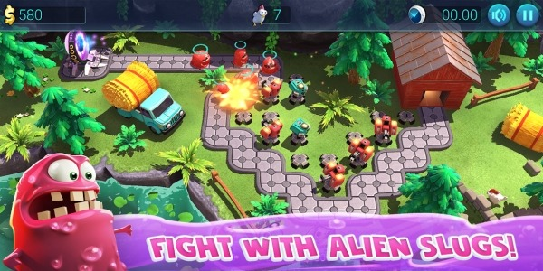 Defenchick TD - Tower Defense 3D Game Android Game Image 1