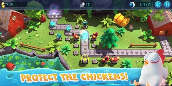Defenchick TD - Tower Defense 3D Game Android Game Image 2