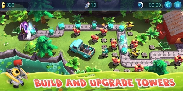 Defenchick TD - Tower Defense 3D Game Android Game Image 4