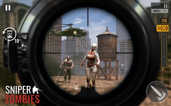 Sniper Zombies Android Game Image 1
