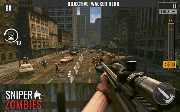 Sniper Zombies Android Game Image 2