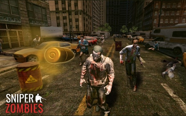 Sniper Zombies Android Game Image 3