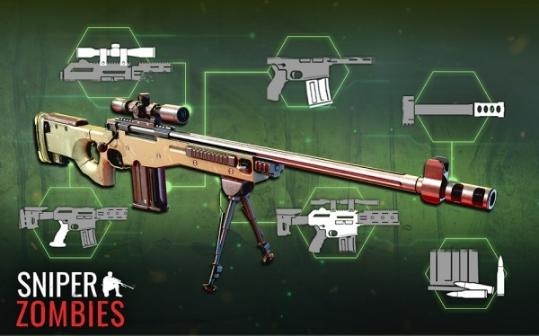 Sniper Zombies Android Game Image 5