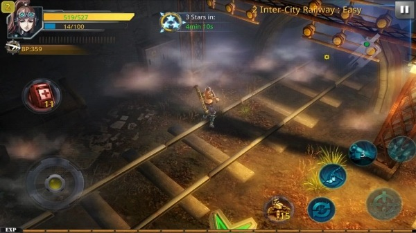 Broken Dawn:Tempest HD Android Game Image 1